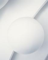 Ball On White