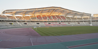 Track And Field Stadium 20055011858| 写真素材・ストックフォト・画像・イラスト素材|アマナイメージズ