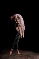 male dancer lifting ballerina,  pas de deux