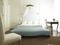 A fancy bedroom