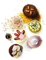 cupcakes print glossy 20055013460  写真素材・ストックフォト・画像・イラスト素材 アマナイメージズ