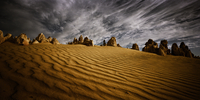 Pinnacles desert, Nambung National Park. Western Australia,
