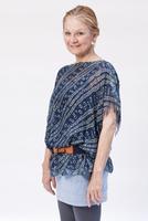 Caucasian Woman 55-65 Years Old In Cool Attire, Studio Portr