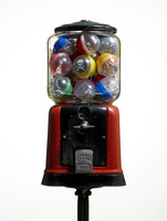 Toxic Toys In Gumball Machine