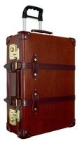 Red Leather Suitcase