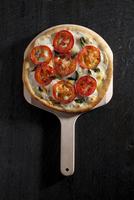 Cheese And Tomatoes Pizza