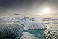 Icebergs, Greenland 20055014994| 写真素材・ストックフォト・画像・イラスト素材|アマナイメージズ