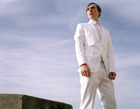 Fashion portrait male model