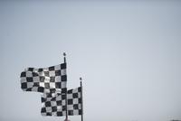 racing flags at fontana superbike race 2009