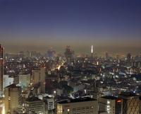View of Shibuya at night