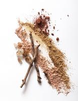 mineral make-up still life