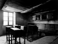 Classroom of an old Jewish school.