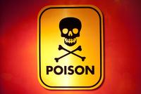 A skull and bones poison sign. 20055017695| 写真素材・ストックフォト・画像・イラスト素材|アマナイメージズ