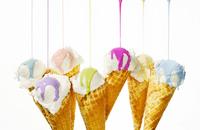 Nail Polish On Ice Cream