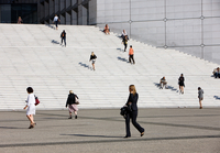 People Going To Work, Grande Arche, La Defense, Paris