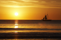 Sunset And Sailing Broome