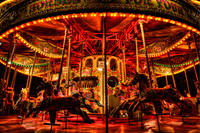 A Merry-Go-Round By Waterloo Station