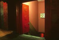Bar Entrance, San Francisco, 1982. 20055019214| 写真素材・ストックフォト・画像・イラスト素材|アマナイメージズ