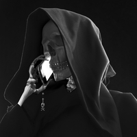 grim reaper on the phone