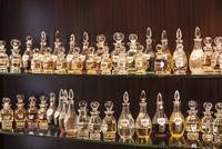 lineup of Arabic perfumes