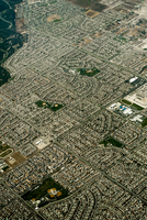 graphic aerial image of greater Los Angeles.