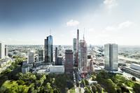 Frankfurt Aerial Cityscape