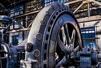 Detail of a turbine, fan hall 20055025286| 写真素材・ストックフォト・画像・イラスト素材|アマナイメージズ