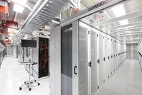 interior of datacenter
