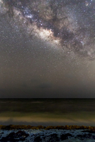 The Milky Way as seen from the Riviera Maya
