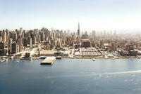 Aerial view on Manhattan 20055034147| 写真素材・ストックフォト・画像・イラスト素材|アマナイメージズ