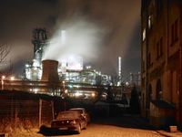 Thyssen Krupp Steelworks in Bruckhausen, Duisburg, Ruhr Area