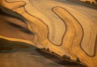 Aerial of Palouse region, Washington