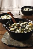 Bowl of Korean seafood soup
