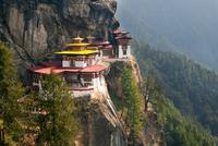 Taktshang or Tiger's Nest Monastery, Paro Valley, Bhutan