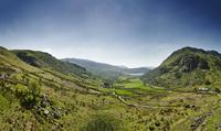 Tryfan, Nant Ffrancon Valley, Snowdonia, Wales