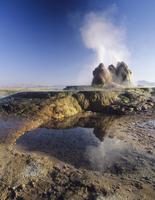 ブラックロック砂漠の間欠泉温泉(フライガイザー) ネバダ州 20057001448| 写真素材・ストックフォト・画像・イラスト素材|アマナイメージズ
