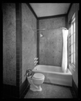 37-41 West 86th Street. Hotel Hortense, bathroom in Margolie