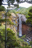 Waitonga Falls in Tongariro National Park, UNESCO World Heritage Site, North Island, New Zealand, Pacific