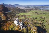 Neuschwanstein Castle, Hohenschwangau, Allgau, Bavaria, Germany, Europe