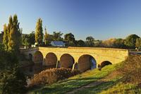 Richmond Bridge, Australia's oldest road bridge, Richmond, Tasmania, Australia, Pacific