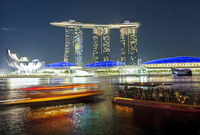 Marina Bay Sands, Marina Bay, Singapore, Southeast Asia, Asia