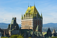 Fairmont Le Chateau Frontenac Hotel, Quebec City, Quebec, Canada, North America