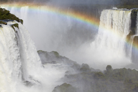 Iguacu Falls, Iguacu National Park, UNESCO World Heritage Site, Parana, Brazil, South America