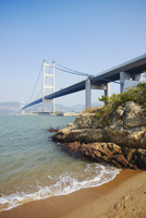 Tsing Ma bridge, Ma Wan, Hong Kong, China, Asia