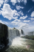 Foz de Iguazu (Iguacu Falls), the largest waterfalls in the world, Iguacu National Park, UNESCO World Heritage Site, Brazil, Sou