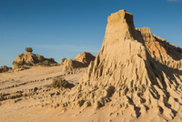 Walls of China, a series of Lunettes in the Mungo National Park, part of the Willandra Lakes Region, UNESCO World Heritage Site,