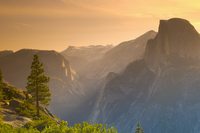 Half Dome from Glacier Point, Yosemite National Park, UNESCO World Heritage Site, California, United States of America, North Am