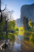 Cathedral Beach, Yosemite National Park, UNESCO World Heritage Site, California, United States of America, North America