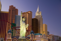 New York New York Hotel and Casino, Las Vegas, Nevada, United States of America, North America