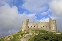 Harlech Castle in summer sunshine, UNESCO World Heritage Site, Gwynedd, Wales, United Kingdom, Europe